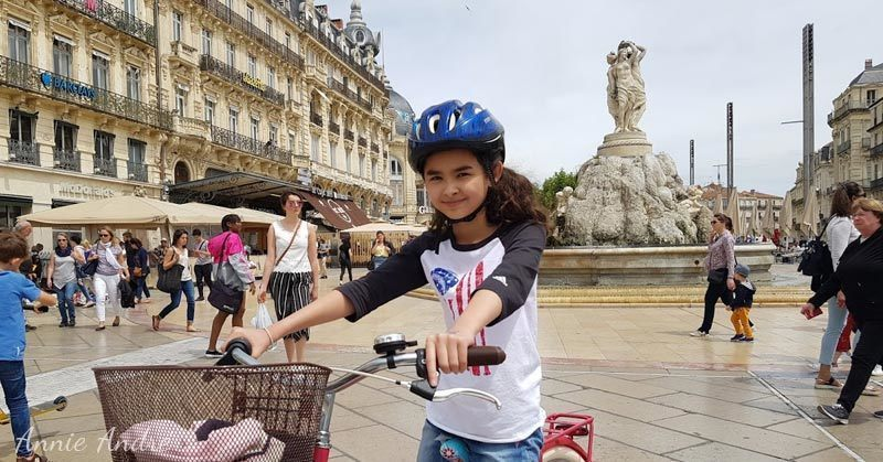 Montpellier is France's 8th largest city and the city with the youngest population
