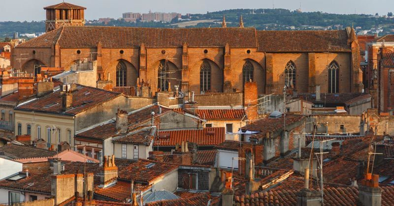 Toulouse, 4th most populated city in France