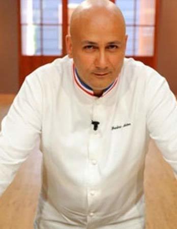 Chef Frédéric Anton Le Pré Catelan 3 Michelin star restaurant in Paris
