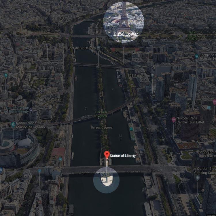 PARIS-ile-aux-cygnes-statue-of-liberty