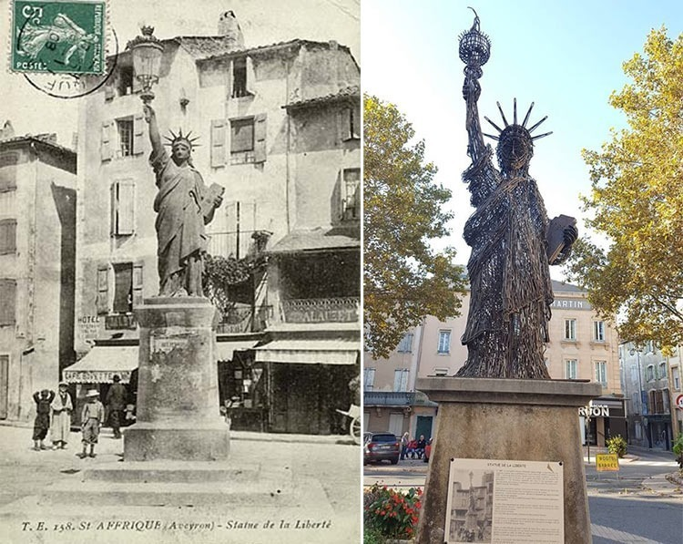 Saint-Affrique-statue-of-liberty