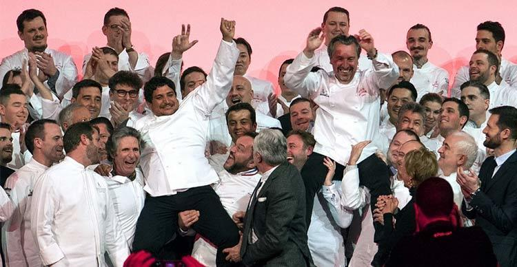 Michelin star chef winners France 2019