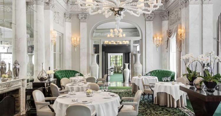 Pre Catelan restaurant Paris Michelin 3-star restaurant
