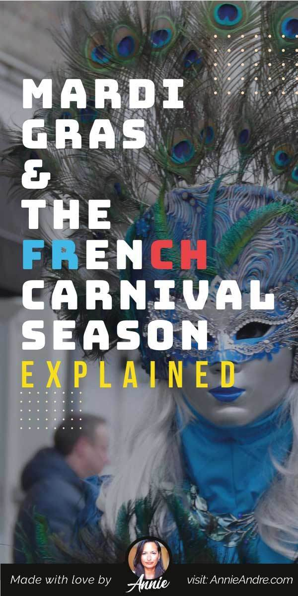 Pintrest pin about Carnival in France