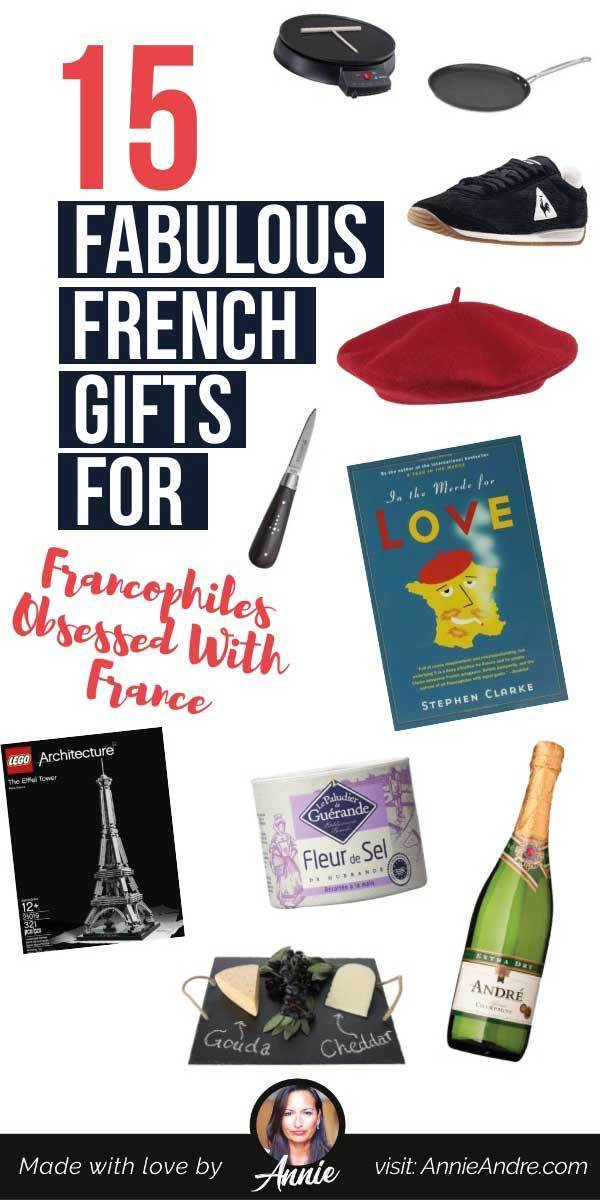 pintrest pin for 15 Fabulous French Gifts For Francophiles Obsessed With France