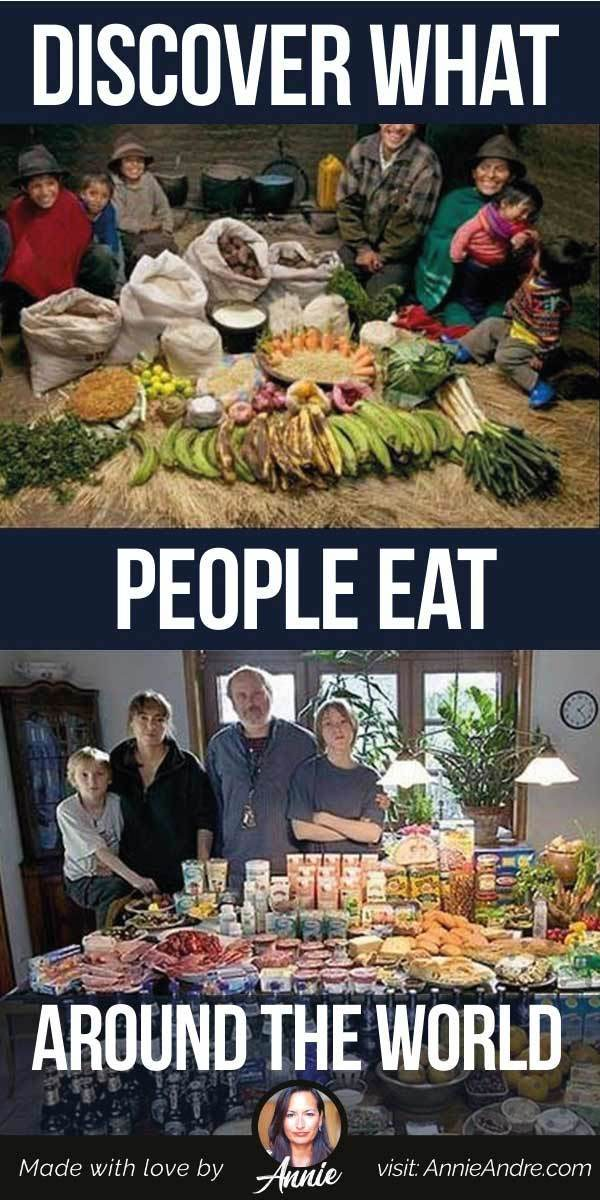 pintrest pin about Discover What People Eat Around The World In Photos