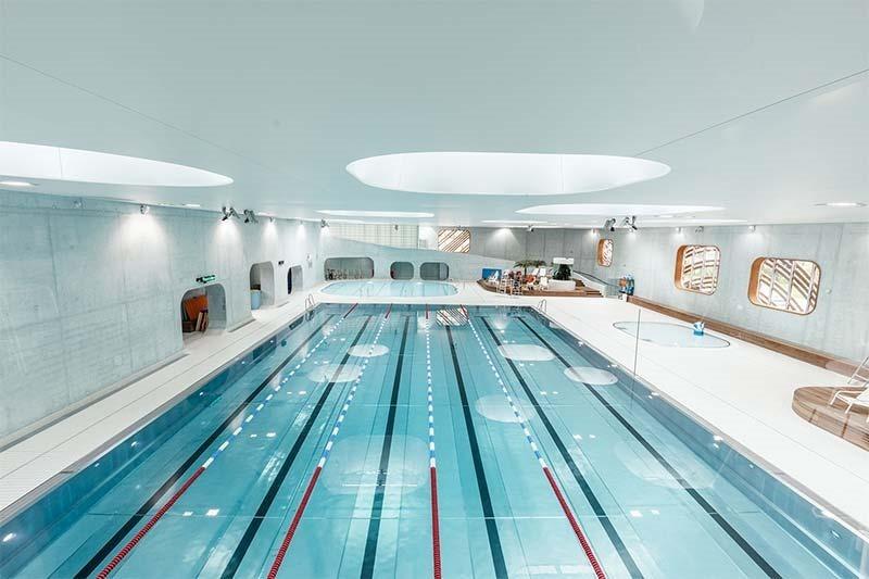 Aquazena, Issy-les-Moulineaux public pool