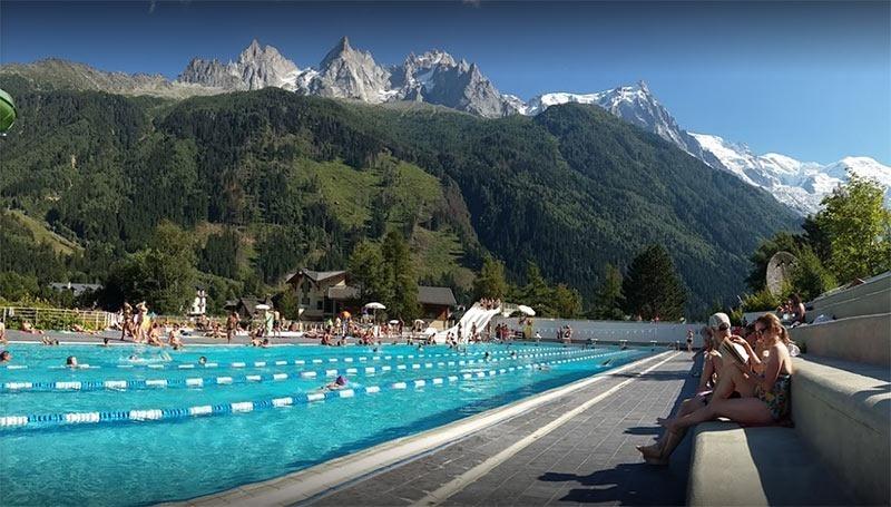 Centre Sportif Richard Bozon public pool in chamnoix