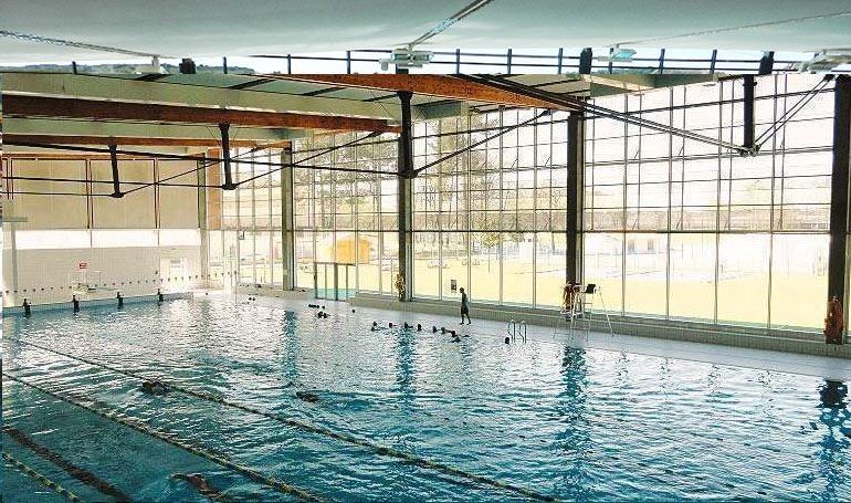 Olympique public pool in Villenave d'Ornon France