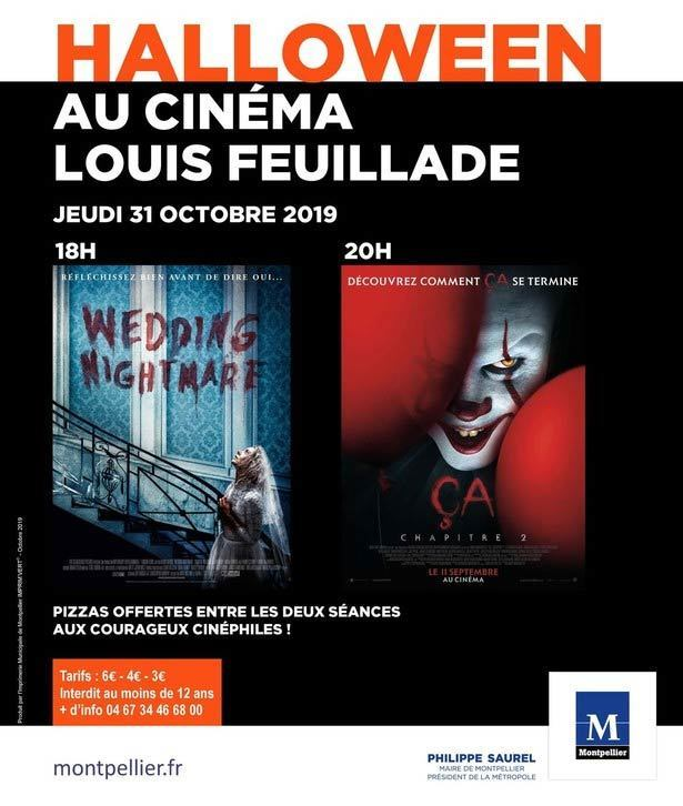 watch a scary movie on halloween in France
