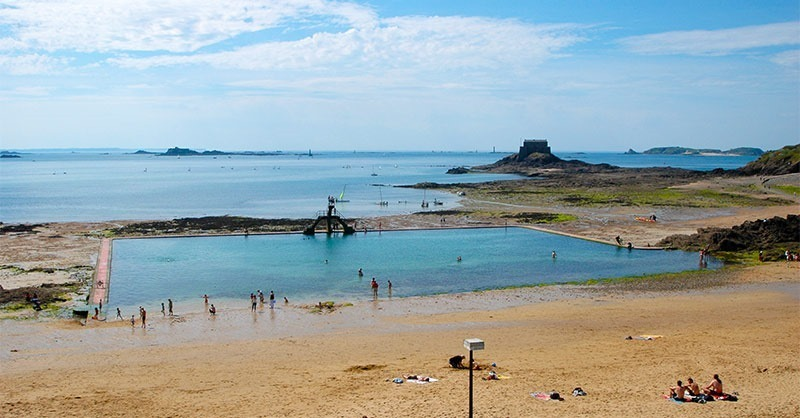 saint-malo Sea water public pool