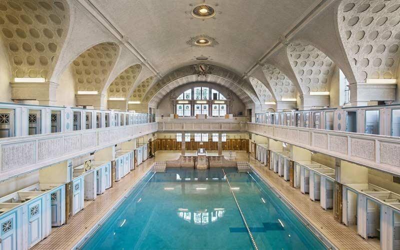 Les bains municipaux de strasbourg public pool and bath