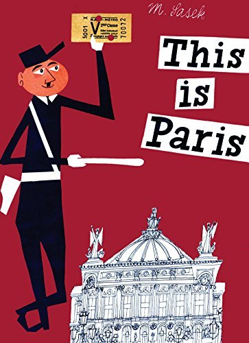 This is Paris illustrated children's book about Paris: a great gift for kids