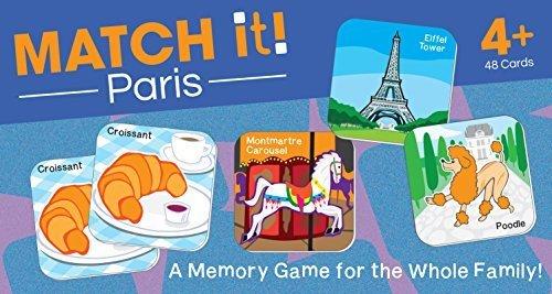 Match it! Paris memory cards