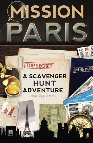 A Scavenger Hunt Adventure book gift for kids