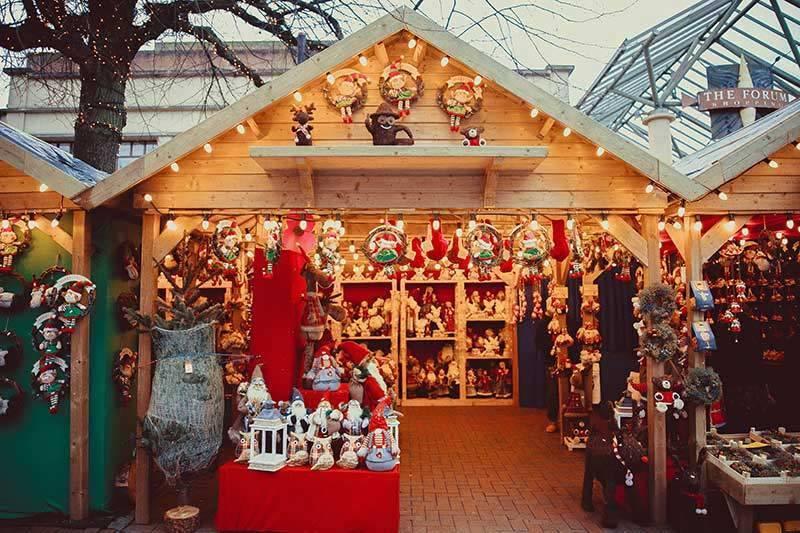 Christmas Market chalet