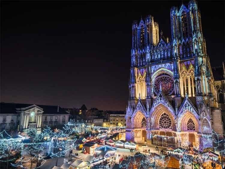 Reims France, Christmas Market