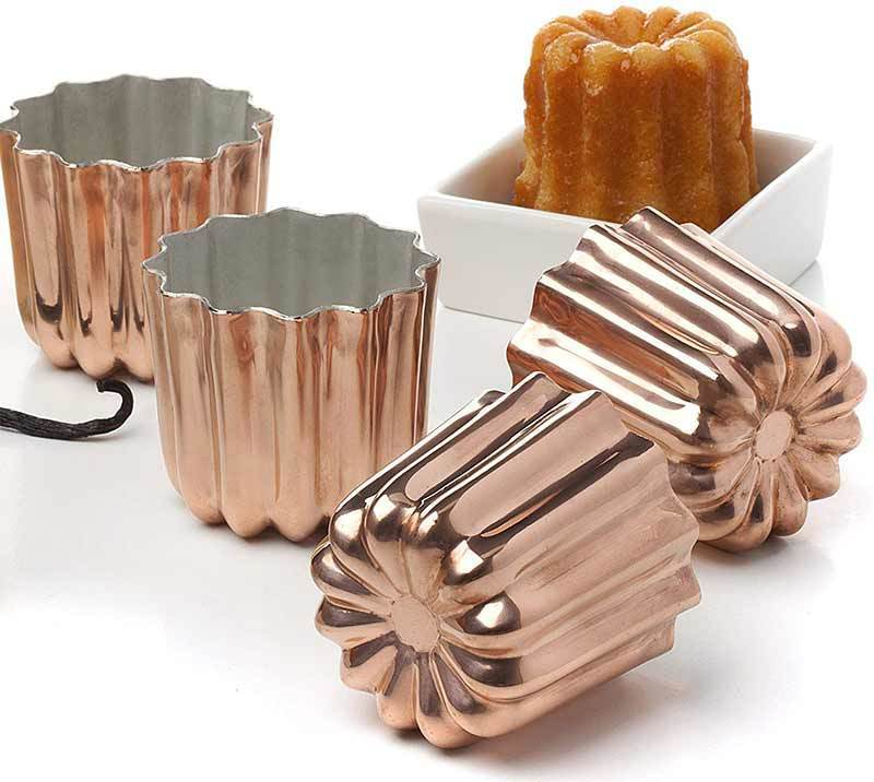photo of Cannelé French pastry mold