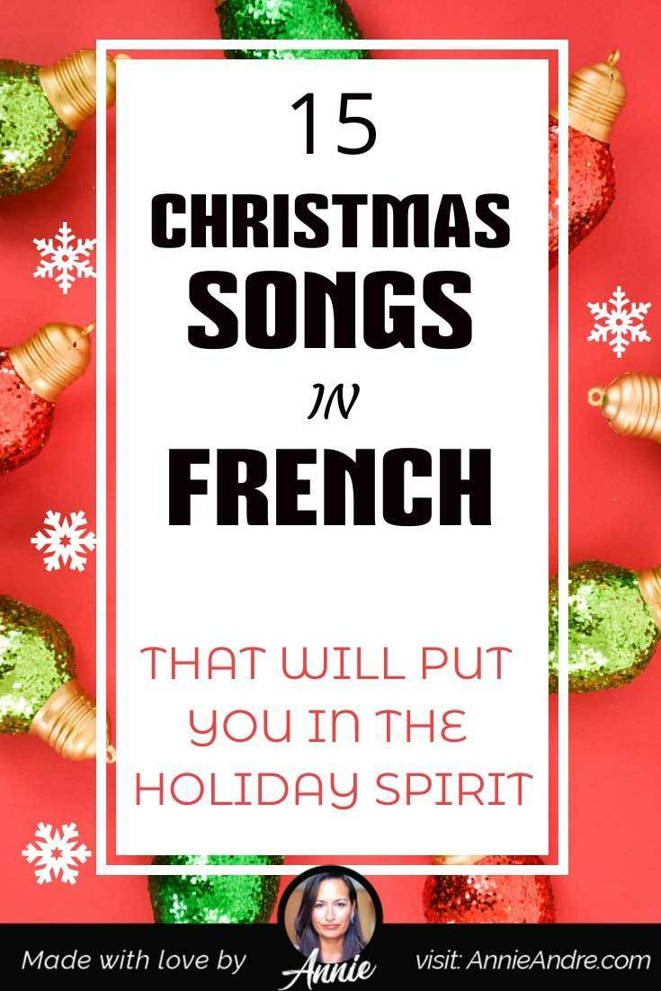 French Christmas songs in France