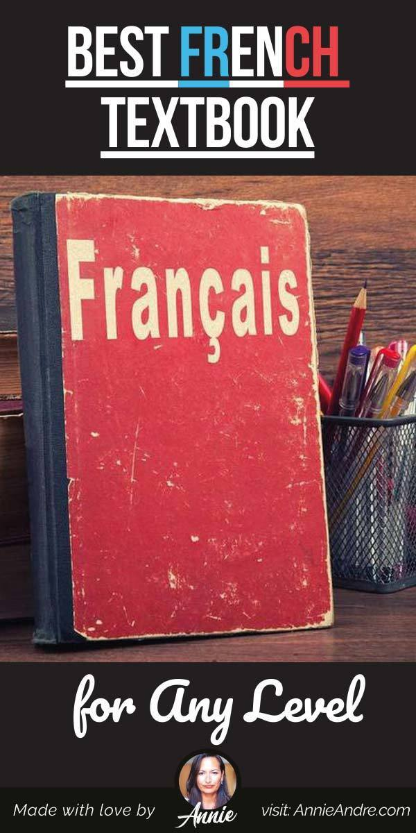 pintrest pin about Best French Textbook for Any Level