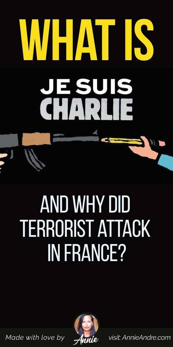 "pintrest pin about What Is ""Je Suis Charlie"" And Why Did Terrorist attack In France?"