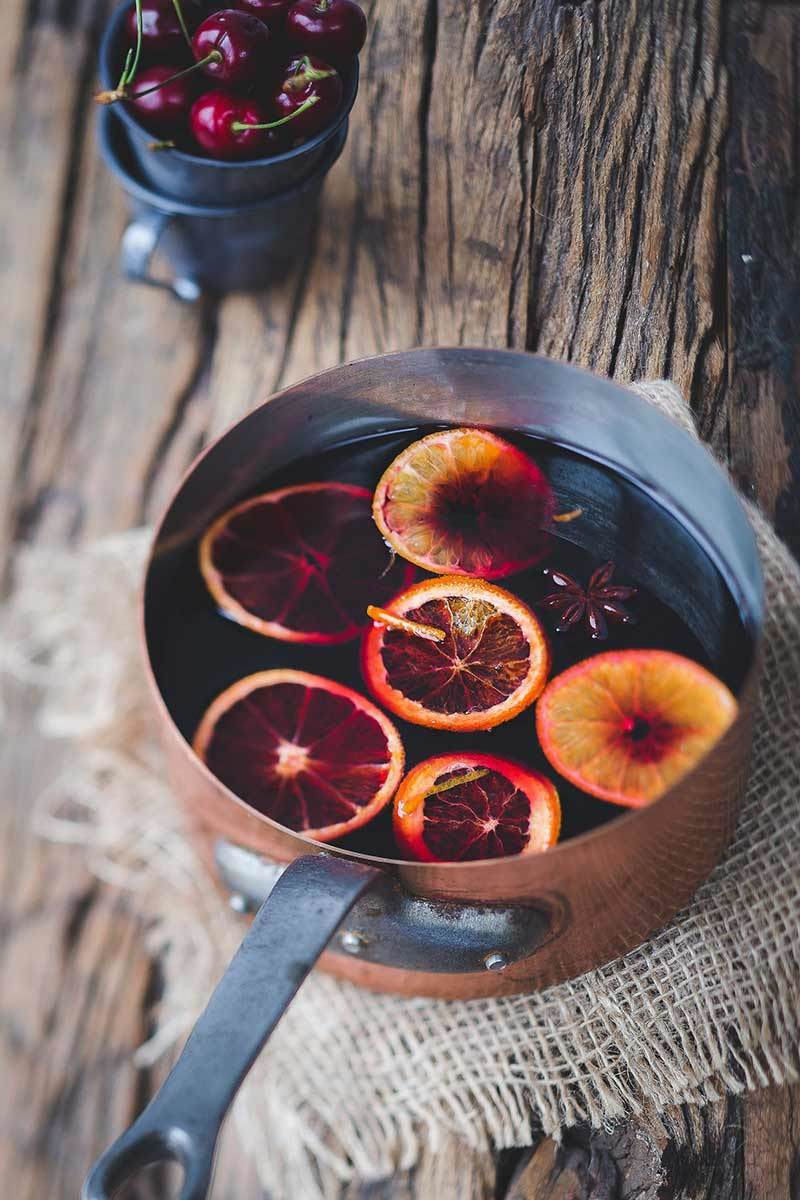 Mulled Wine, known as Vin Chaud is a staple at Christmas markets in France