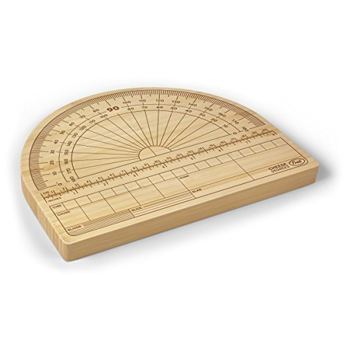 CHEESE DEGREES Bamboo Cutting Board med