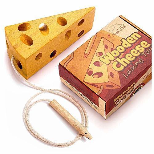 Montessori Cheese Lacing Puzzle