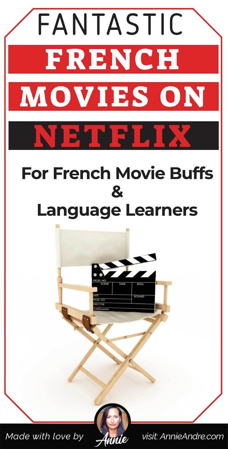 Fantastic French movies on Netflix for French movie buffs and Pin for French language learners