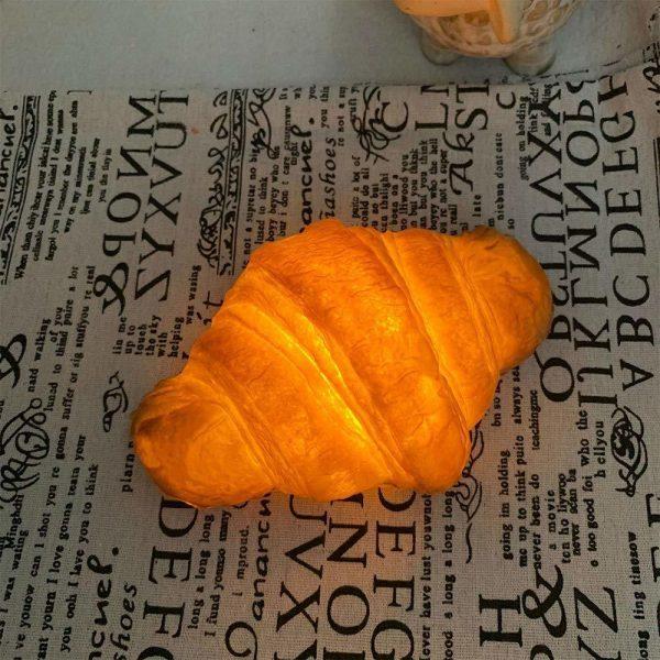 croissant night light