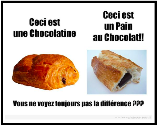 pain au chocolat french meme