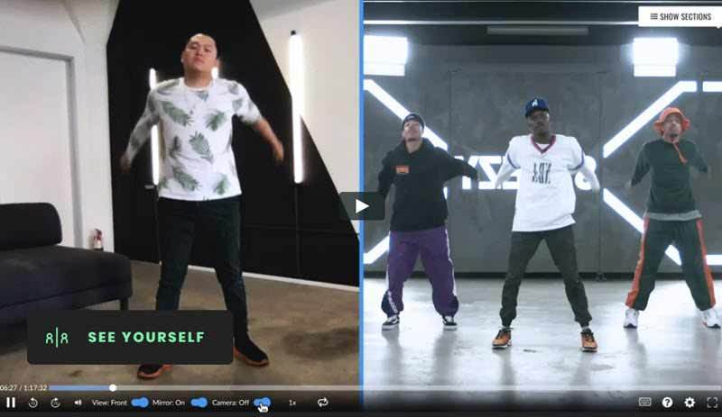 Image from Steezy website where you can find Beginner Home Workouts to learn many street and urban dances