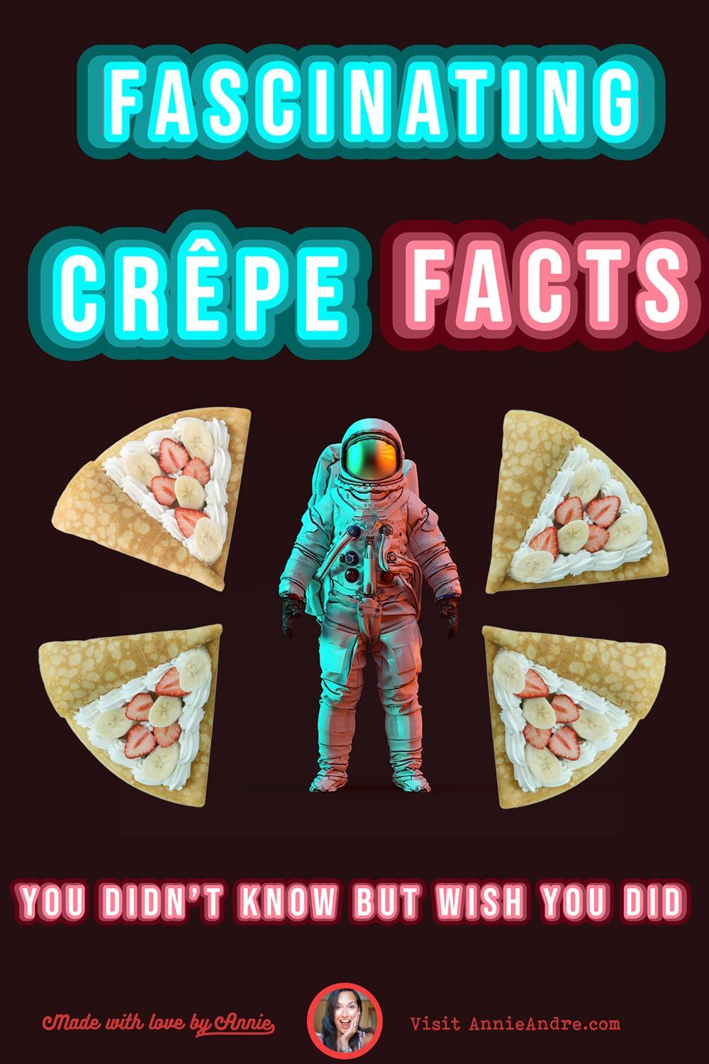 Fascinating crepe facts you didn't know but wish you did pin