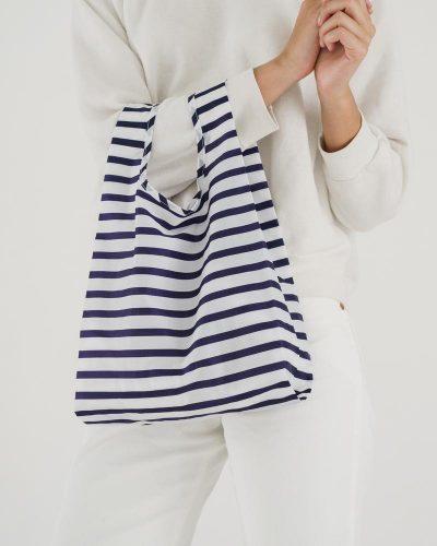 Reusable French Sailor Grocery Bag