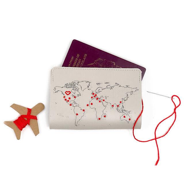 Stitch Passport Cover Holder