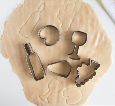 Wine And Cheese Cookie Cutter Set