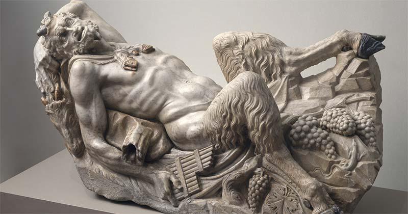 Reclining Pan Statue, 1535