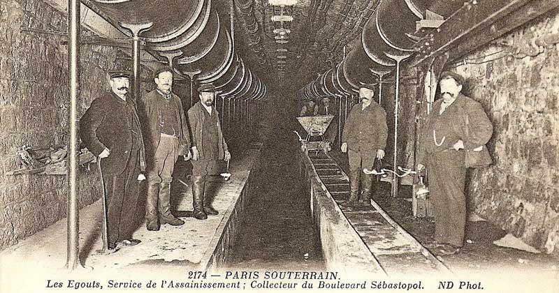 Les égouts de paris sewers