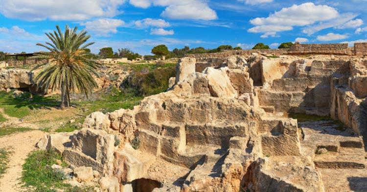 tombs of kings in Cyprus