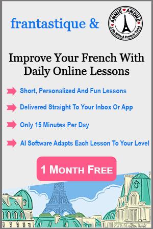 Online French lessons frantastique