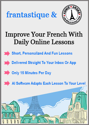 Personalized online French lessons - Frantastique