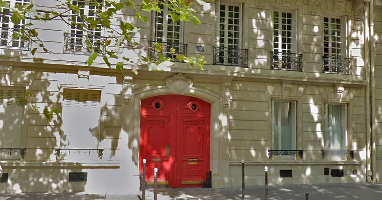 160 Boulevard Malesherbes Pairs: where Chanel stayed on ground floor of Etienne Balsan bachelor pad