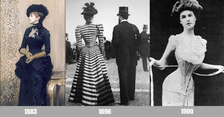 Belle Époque woman's clothing