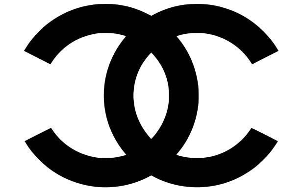 Chanel logo which Coco designed