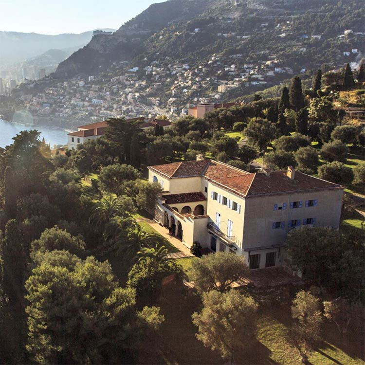 Chanel's Summer Villa: La Pausa on the French Riviera which she had built