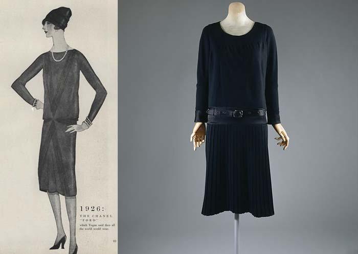 LBD: CHANEL Little Black Dress 1926