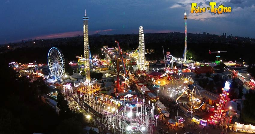 Foire du Trône is the oldest and biggest travelling faire in France and Europe