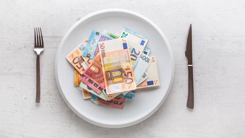 Tipping in French restaurants