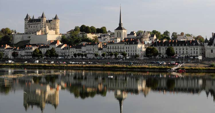 Saumur France, birthplace of Gabrielle Coco Chanel 1883