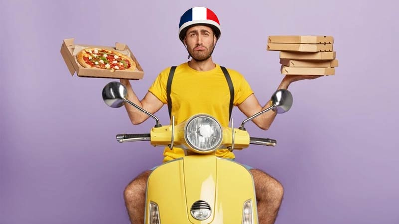 Tipping Delivery People In France
